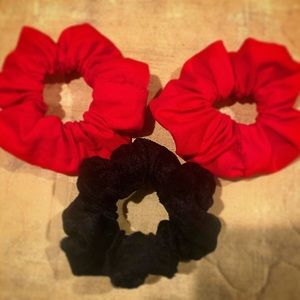 3 Pack of Handmade Scrunchies (Cotton)